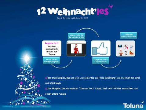 12 Weihnacht'ies