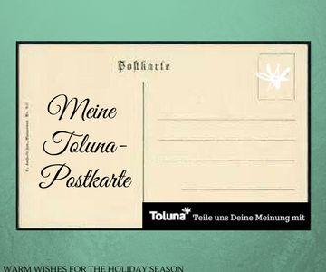 meine toluna postkarte