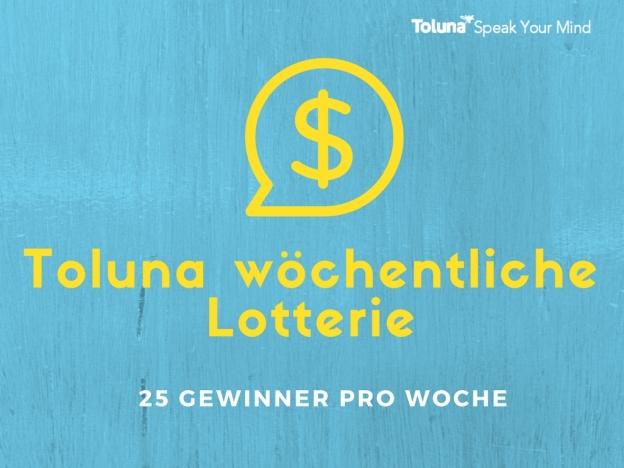 Toluna Weekly Sweepstakes (1)