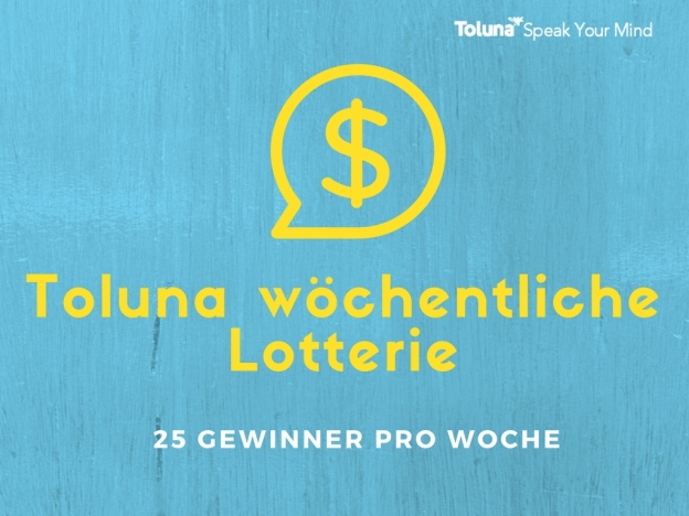 Toluna Weekly Sweepstakes (1)
